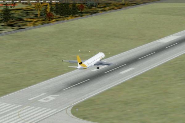 Flug Airbus - A320 180 Minuten