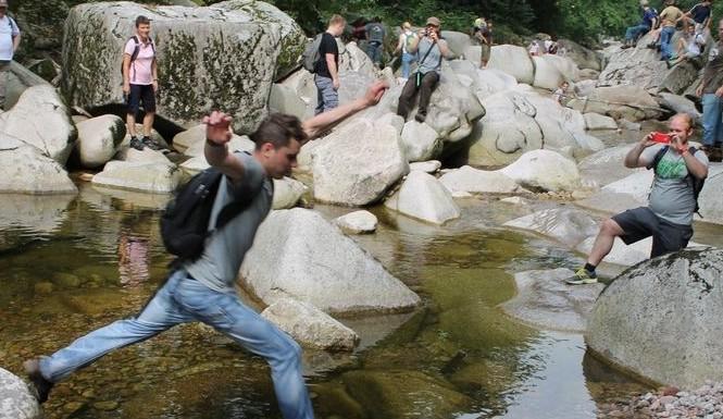 Canyoning-Tour an der Murg im Schwarzwald
