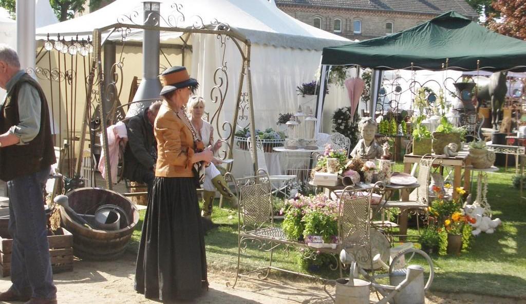 Westfälisches Gartenfestival in Warendorf