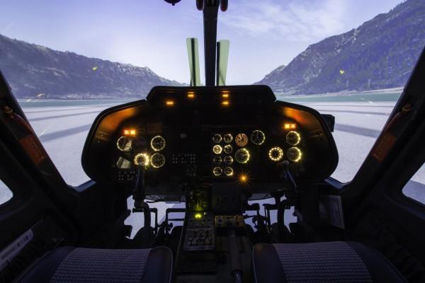 Helikopterflugsimulator Agusta A109