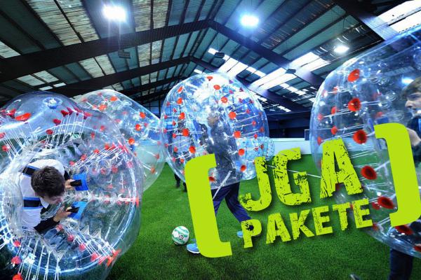 Bubble Soccer Junggesellenabschied in Bielefeld