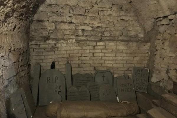 Prag Altstadt, Mittelalterliches Untergrund und Dungeon Führung